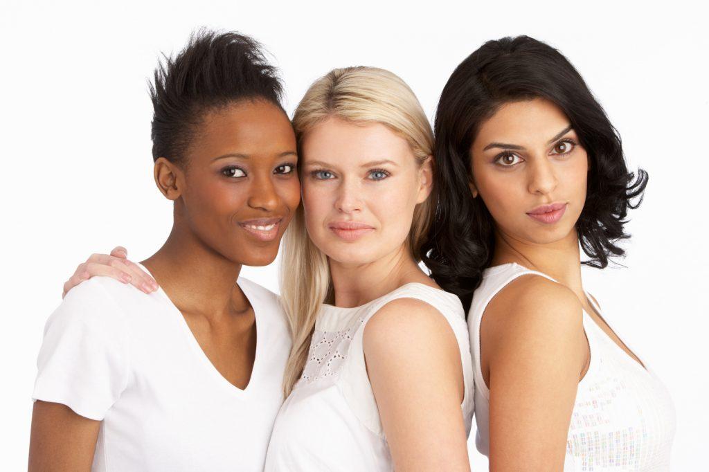 Natural Beauty - 3 beautiful women