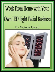 Work from Home with Your Own LED Light Facial Business