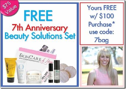 Skin care sale