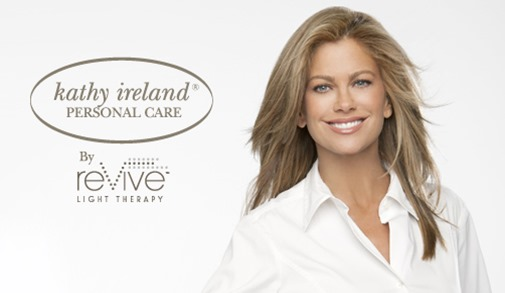 Kathy Ireland by reVive Light Therapy