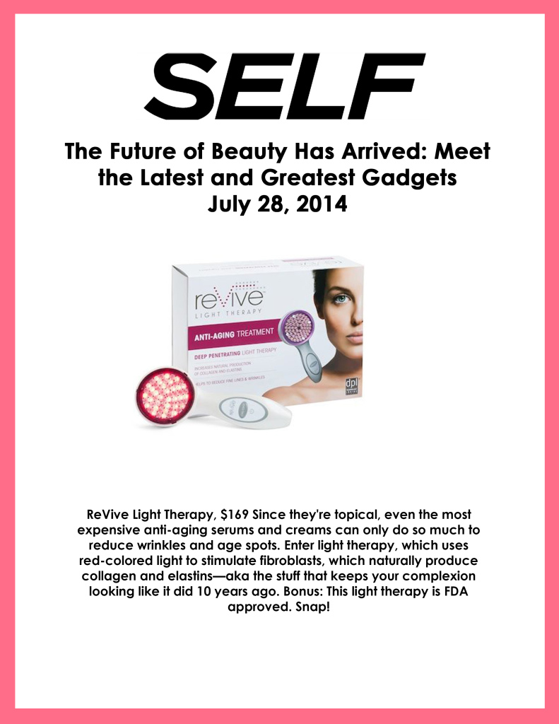 reVive Light Therapy - Self - Jul 28