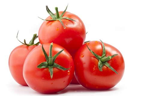 Tomatoes good for the skin