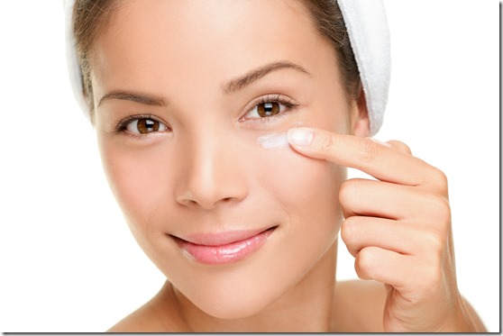 Using an Eye Cream