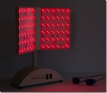 Caribbean Sun with red LEDs engaged