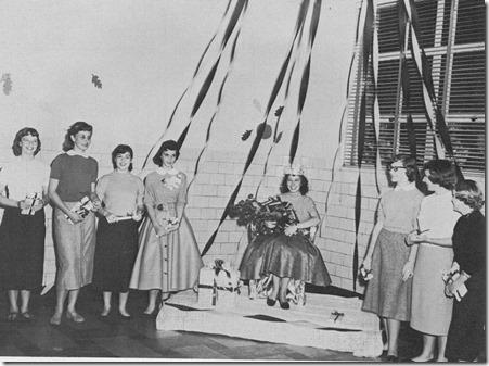 1956 fall festival queen