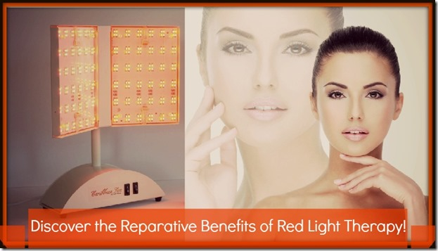 Red light therapy helps with rosacea