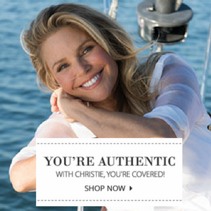Christie Brinkley skincare